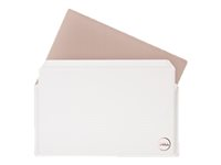 Dell Premier Sleeve 13 - Housse d'ordinateur portable - blanc - pour XPS 13 9365 2-in-1, 13 9370 PM-SL-WT-3-19